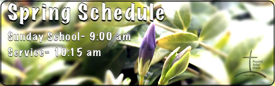 Spring Schedule slide jpg