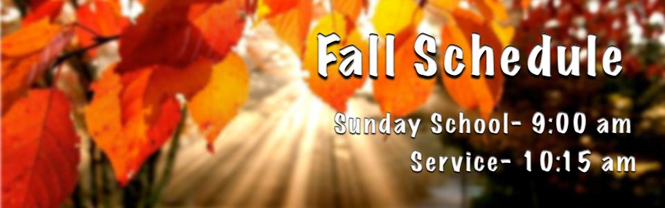 Fall-Schedule-Here