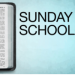 Sunday school logo